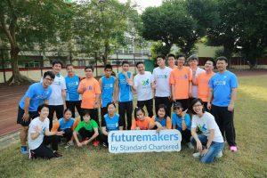【Futuremakers公益計畫:渣打林遠棟總經理勉勵啟明學生勇敢追夢】
