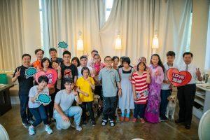 Futuremakers公益計畫與臺中啟明學校餐敘